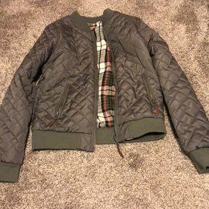 Cute Full Tilt reversible bomber jacket!